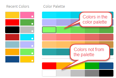 Changing the Dashboard's Color Palette | Sisense ...